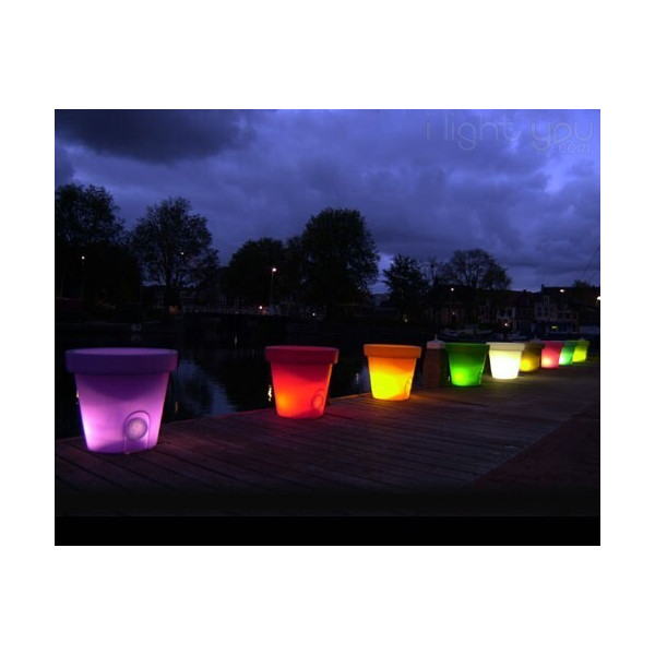 Pot lumineux Bloom 40cm -25%