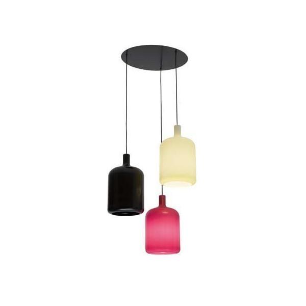 suspension 3 lampes bulb bob design. Black Bedroom Furniture Sets. Home Design Ideas