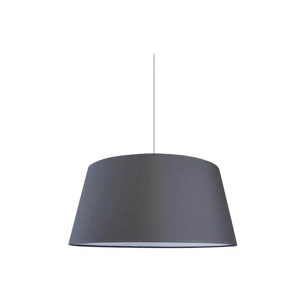suspension abat jour xxl gris ardoise. Black Bedroom Furniture Sets. Home Design Ideas
