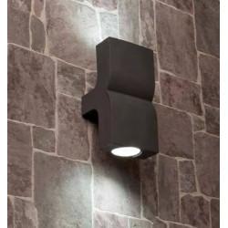 Applique aluminium gris foncé pour l'extérieur - Faro