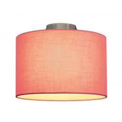 FENDA abat-jour rose textile
