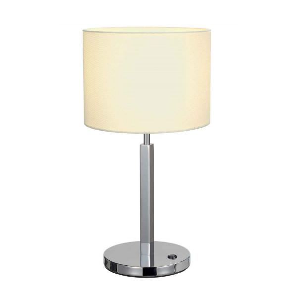 TENORA TL-1 lampe à poser chrome diffuseur blanc E27 max 60W