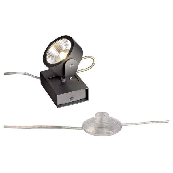 KALU FLOOR 1 LED à poser noir LED 10W 3000K