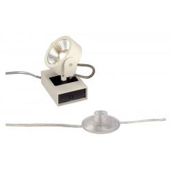 KALU FLOOR 1 LED à poser blanc et noir LED 10W 3000K