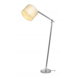 TENORA FL-1 lampadaire chrome diffuseur blanc E27 max 60W