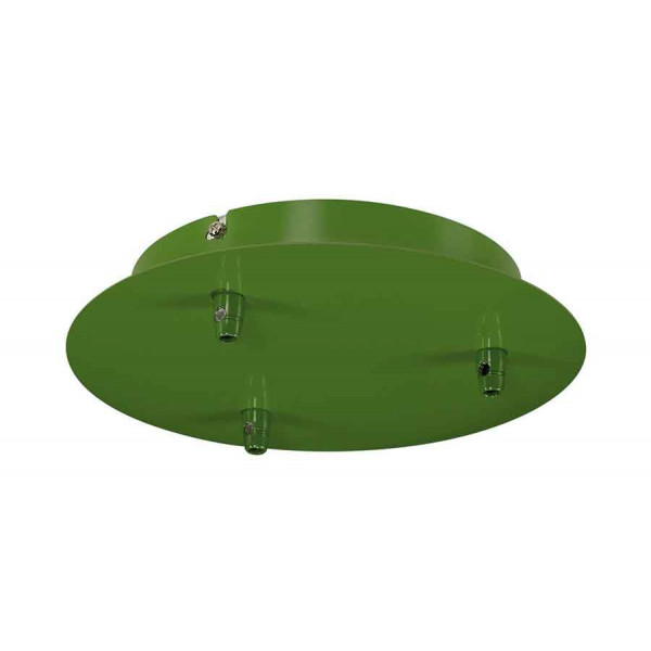 FITU 3 patère 3 passe-fils rond vert