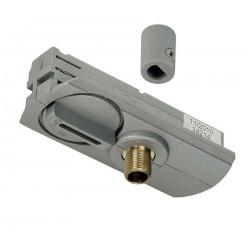 Adaptateur 1 allumage pour suspensions gris argent passe-fil inclus