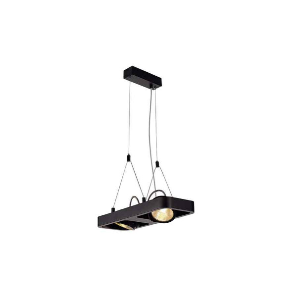 LYNAH LED double suspension noir COB LED 2x10W 3000K