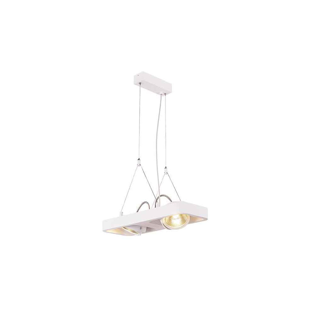 Suspension aluminium blanc 21 w 1320 lm for Suspension led exterieur