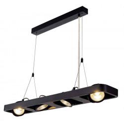 LYNAH LED quad suspension noir COB LED 4x10W 3000K