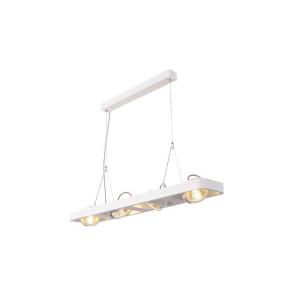 LYNAH LED quad suspension blanc COB LED 4x10W 3000K