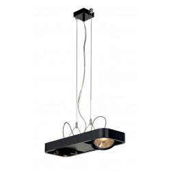 AIXLIGHT R2 DUO QRB111 suspension arrondie noire QRB111 max 2x 50W