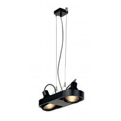 AIXLIGHT R DUO HIT suspension ronde noire G12 2x70W sans réflecteur