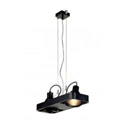 AIXLIGHT R2 DUO HIT suspension arrondie noire 2xG12 2x70W sans réflecteur