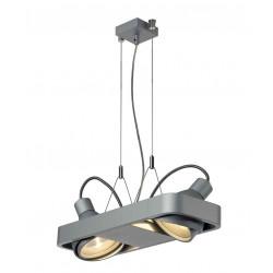 AIXLIGHT R2 DUO HIT suspension arrondie gris argent 2xG12 2x70W sans réflecteur