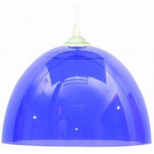 Suspension bleue violette