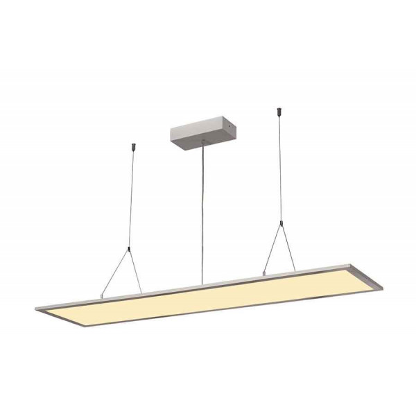 I-PENDANT PRO LED PANEL Suspension 1195x295mm gris argent 230V 2700K