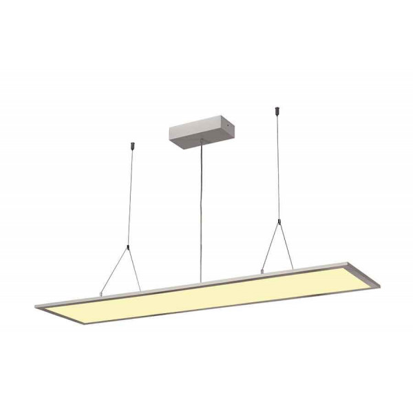 I-PENDANT PRO LED PANEL Suspension 1195x295mm gris argent 230V 3000K