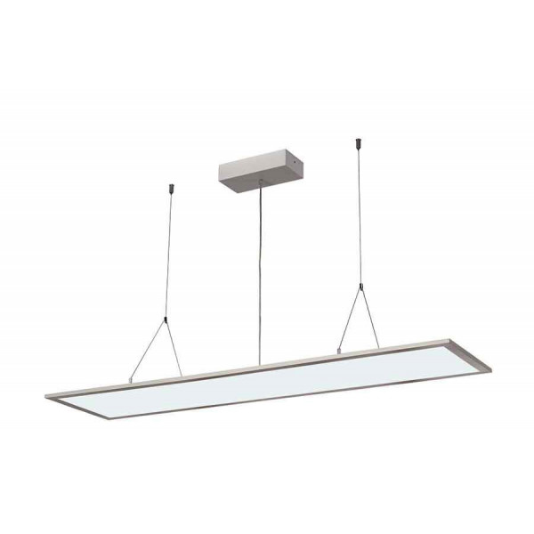 I-PENDANT PRO LED PANEL Suspension 1195x295mm gris argent 230V 4000K