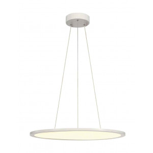 LED PANEL ROND suspension blanc mat LED 40W 3000K variable 1-10V