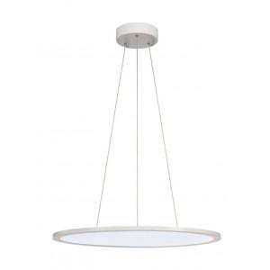 LED PANEL ROND suspension blanc mat LED 40W 4000K variable 1-10V