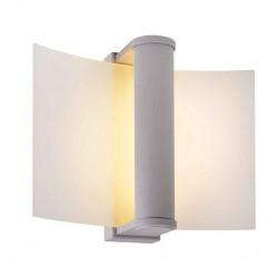 ZENIT 30 applique et plafonnier gris argent verre satiné SMD LED 6W