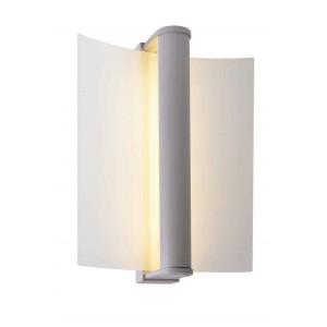 ZENIT 40 applique et plafonnier gris argent verre satiné SMD LED 88W