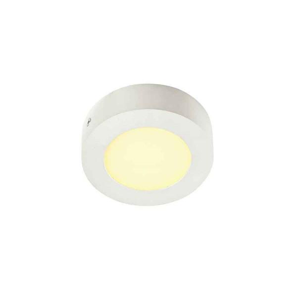 SENSER applique et plafonnier rond blanc 6W LED 3000K