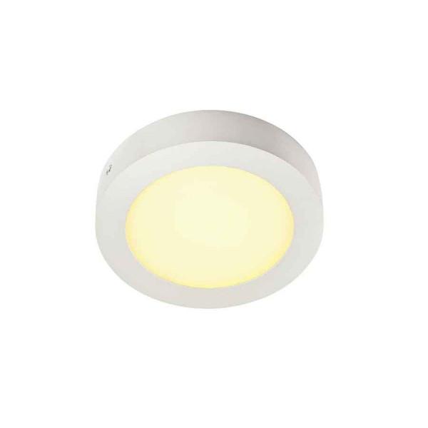 SENSER applique et plafonnier rond blanc 10W LED 3000K