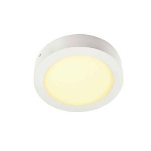 SENSER applique et plafonnier rond blanc 14W LED 3000K