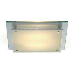GLASSA SQUARE TC-DE plafonnier carré verre satiné 2x TC-DE 2x 26W