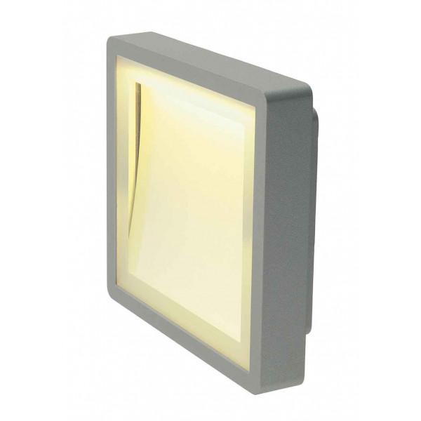 INDIGLA applique gris argent 36 SMD LED 6W 3000K IP54