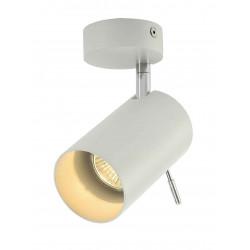 ASTO TUBE 1 applique et plafonnier blanc 1x GU10 max 1x 75W