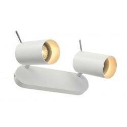 ASTO TUBE 2 applique et plafonnier blanc 2x GU10 max 2x 75W