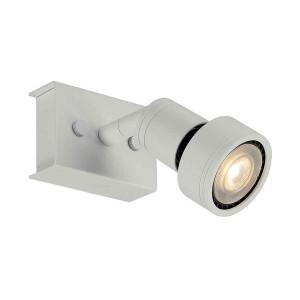 PURI 1 plafonnier blanc mat GU10 max 50W anneau déco inclus