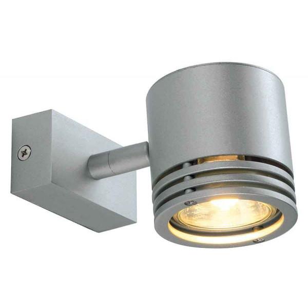 BARRO 1 applique et plafonnier rond gris argent GU10 max 50W
