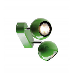 LIGHT EYE 2 GU10 applique et plafonnier vert 2x GU10 max 2x50W