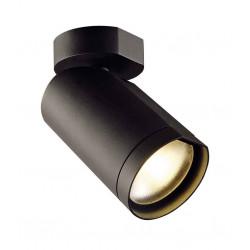 BILAS spot simple 25° LED rond noir 15W 2700K avec patère