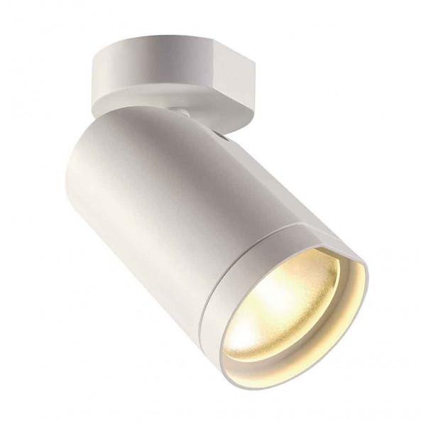BILAS spot simple 25° LED rond blanc 15W 2700K avec patère