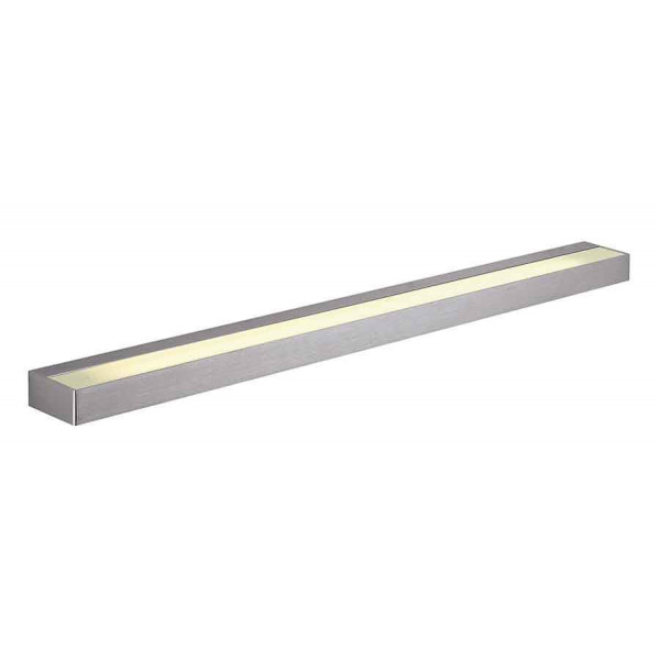 SEDO 21 LED applique carrée alu brossé verre satiné 22W 3000K