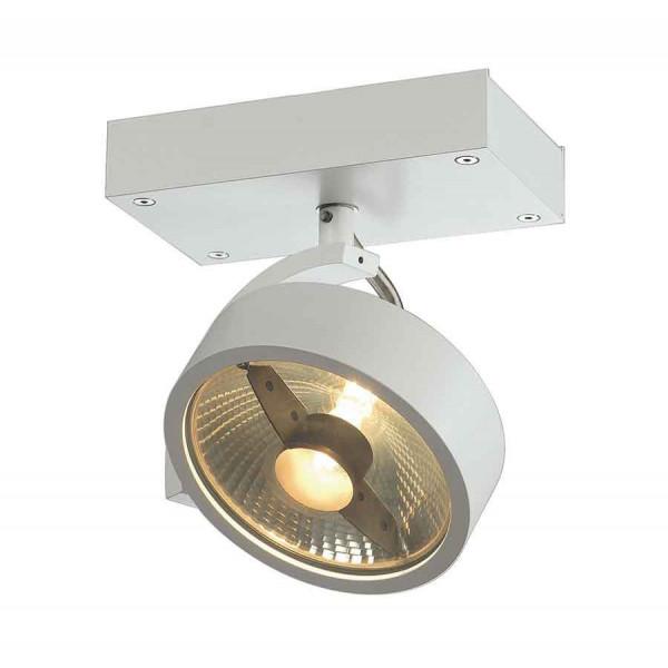 KALU 1 QPAR111 plafonnier blanc mat ES111 max 75W