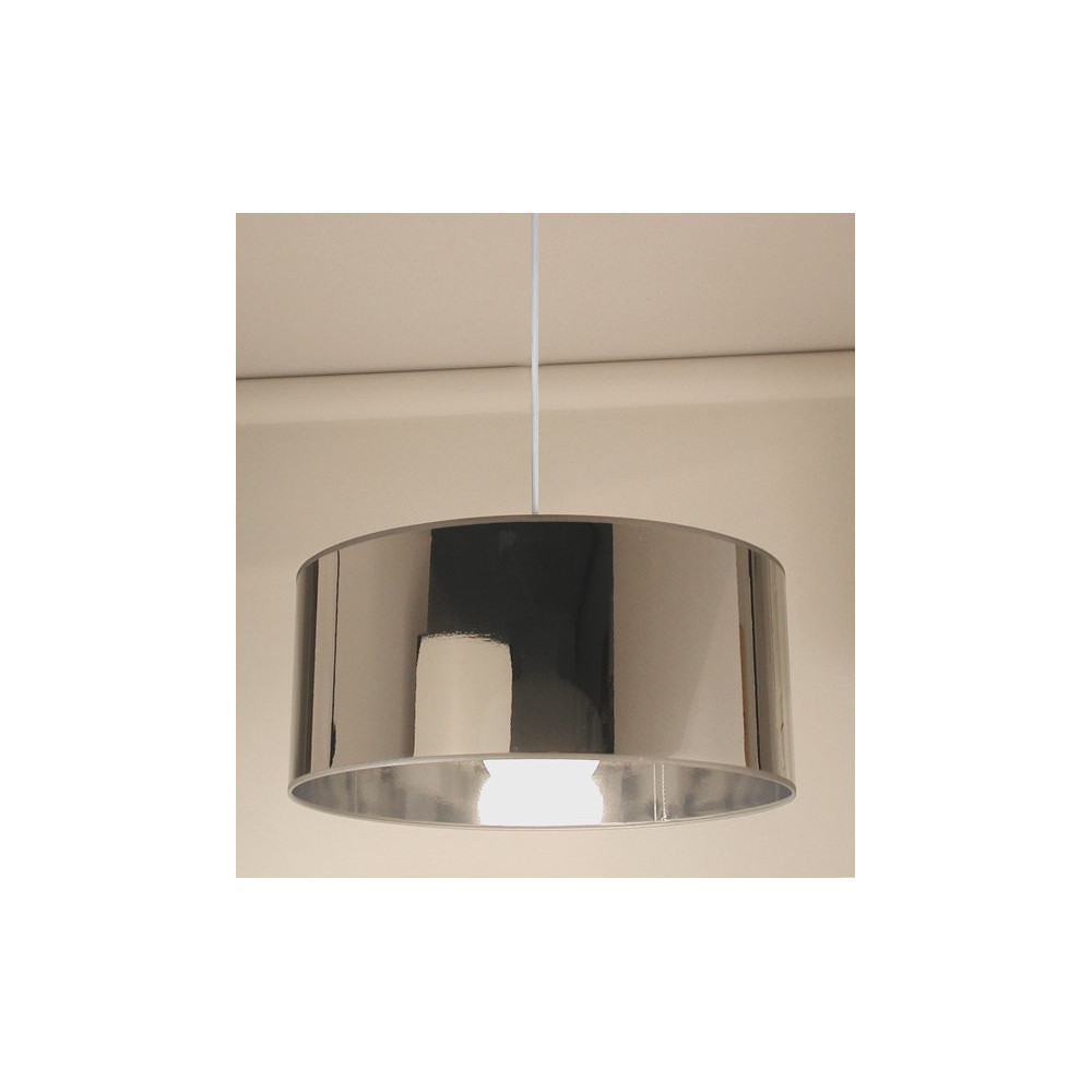 Suspension cylindre miroir