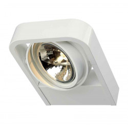 AIXLIGHT R2 WALL QRB111 applique arrondie blanche QRB111 max 1x 50W