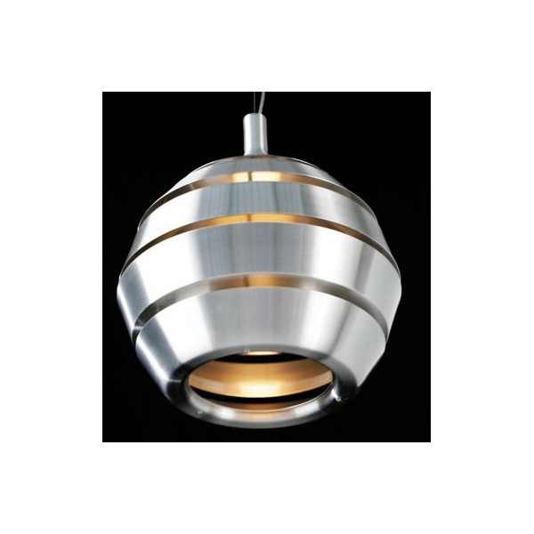 Suspension design aluminium bross sur lampe avenue for Lampe suspension design