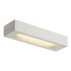 GL 103 T5 applique carrée plâtre blanc T5 8W