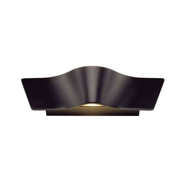WAVE WALL applique noir 2x45W LED 3000K
