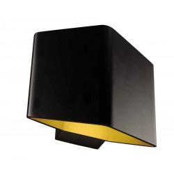 CARISO 1 applique noir et laiton LED 76W 3000K