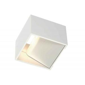 LOGS IN applique carrée blanche 5W LED 3000K