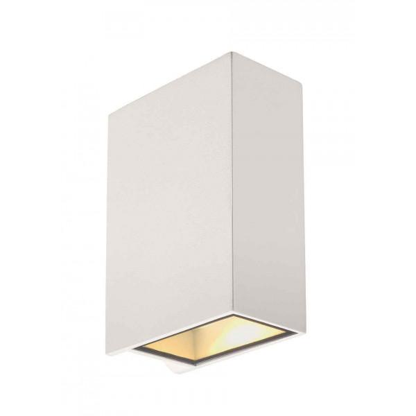 QUAD 2 XL applique carrée blanche LED 2x32W 3000K up-down IP44