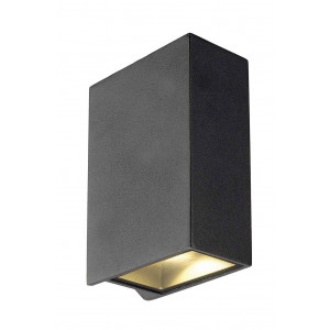 QUAD 2 XL applique carrée anthracite LED 2x32W 3000K up-down IP44